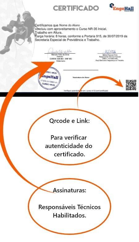 Certificado Engehall